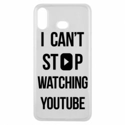 Чохол для Samsung A6s I can't stop watching youtube