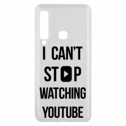 Чохол для Samsung A9 2018 I can't stop watching youtube
