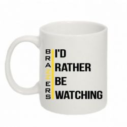 Кружка 320ml I'd rather be watching