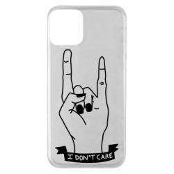 Чехол для iPhone 11 I don't care 1