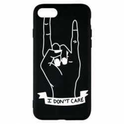 Чехол для iPhone 7 I don't care 1