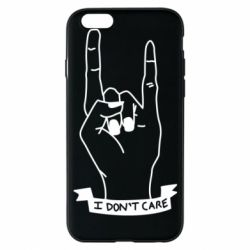 Чехол для iPhone 6/6S I don't care 1