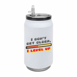 Термобанка 350ml I don't get older i level up