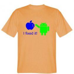 Мужская футболка I fixed it! Android - FatLine