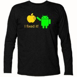 Футболка с длинным рукавом I fixed it! Android - FatLine