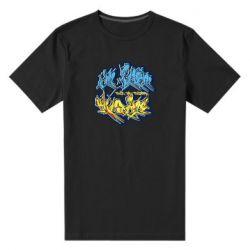 Мужская стрейчевая футболка I from Ukraine Graffiti