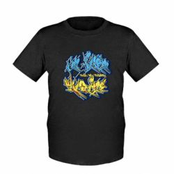 Детская футболка I from Ukraine Graffiti