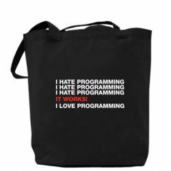 Сумка I hate programming