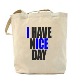Сумка I have nice day - FatLine