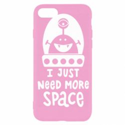 Чохол для iPhone 7 I just need more space