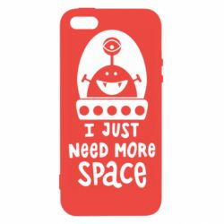 Чохол для iphone 5/5S/SE I just need more space