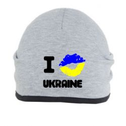 Шапка I kiss Ukraine - FatLine