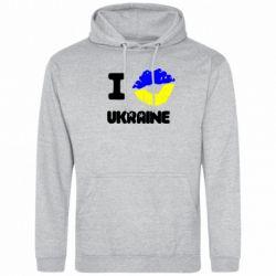 Толстовка I kiss Ukraine - FatLine