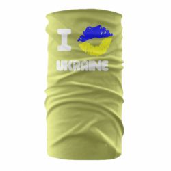 Бандана-труба I kiss Ukraine