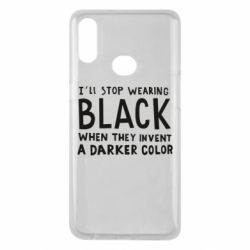 Чохол для Samsung A10s i'll stop wearing black when they invent a darker color
