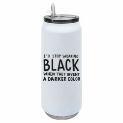 Термобанка 500ml i'll stop wearing black when they invent a darker color