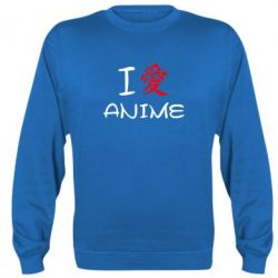 Реглан I love Anime - FatLine