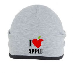Шапка I love APPLE - FatLine
