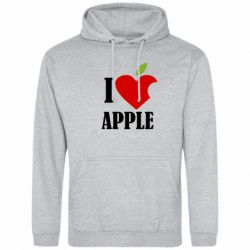 Толстовка I love APPLE - FatLine