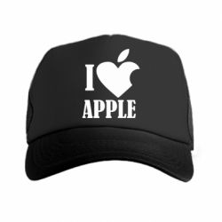 Кепка-тракер I love APPLE - FatLine