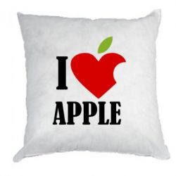 Подушка I love APPLE - FatLine