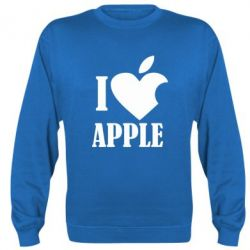 Реглан I love APPLE - FatLine