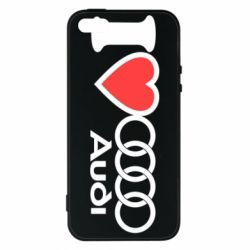 Купить Чехол для iPhone5/5S/SE I love audi, FatLine
