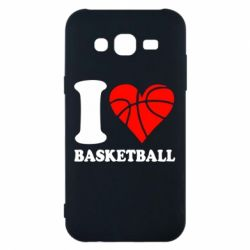 Чехол для Samsung J5 2015 I love basketball