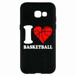 Чехол для Samsung A5 2017 I love basketball