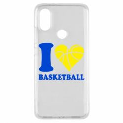 Чехол для Xiaomi Mi A2 I love basketball