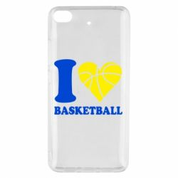 Чохол для Xiaomi Mi 5s I love basketball