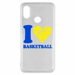 Чохол для Xiaomi Mi8 I love basketball