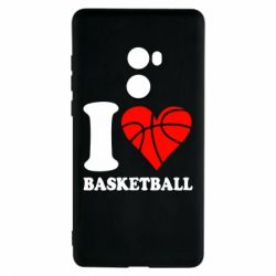Чохол для Xiaomi Mi Mix 2 I love basketball