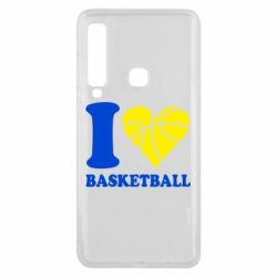 Чехол для Samsung A9 2018 I love basketball