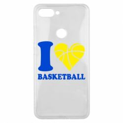 Чохол для Xiaomi Mi8 Lite I love basketball
