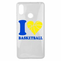 Чохол для Xiaomi Mi Max 3 I love basketball