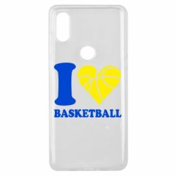Чохол для Xiaomi Mi Mix 3 I love basketball