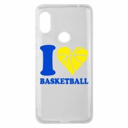 Чохол для Xiaomi Redmi Note Pro 6 I love basketball