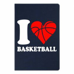 Блокнот А5 I love basketball