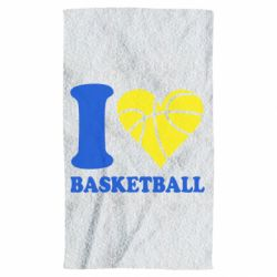 Рушник I love basketball