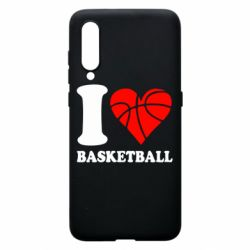 Чехол для Xiaomi Mi9 I love basketball
