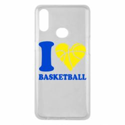 Чехол для Samsung A10s I love basketball