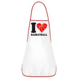 Фартук I love basketball