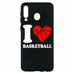 Чехол для Samsung M30 I love basketball