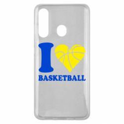 Чехол для Samsung M40 I love basketball