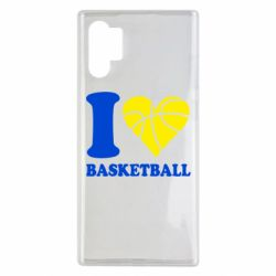 Чехол для Samsung Note 10 Plus I love basketball