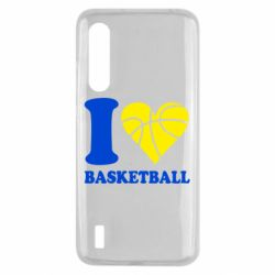 Чохол для Xiaomi Mi9 Lite I love basketball