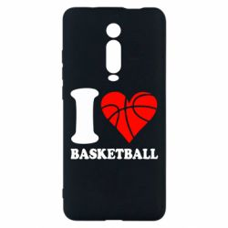 Чехол для Xiaomi Mi9T I love basketball