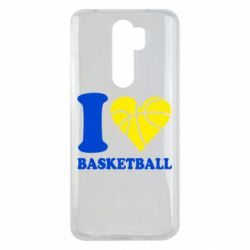Чохол для Xiaomi Redmi Note 8 Pro I love basketball