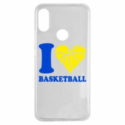 Чохол для Xiaomi Redmi Note 7 I love basketball